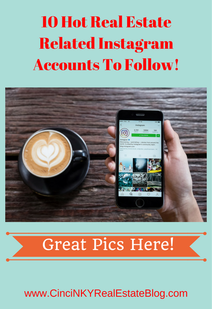 10 hot real estate instagram accounts to follow