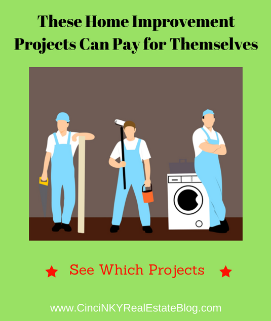 home improvements that can pay for themselves