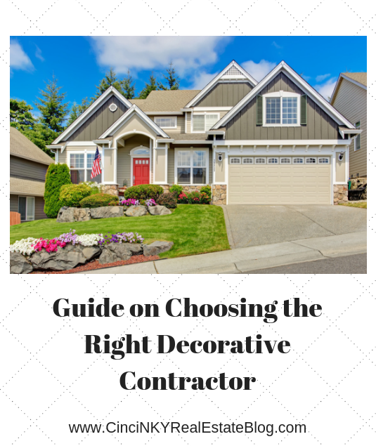 Guide on Choosing the Right Decorative Contractor