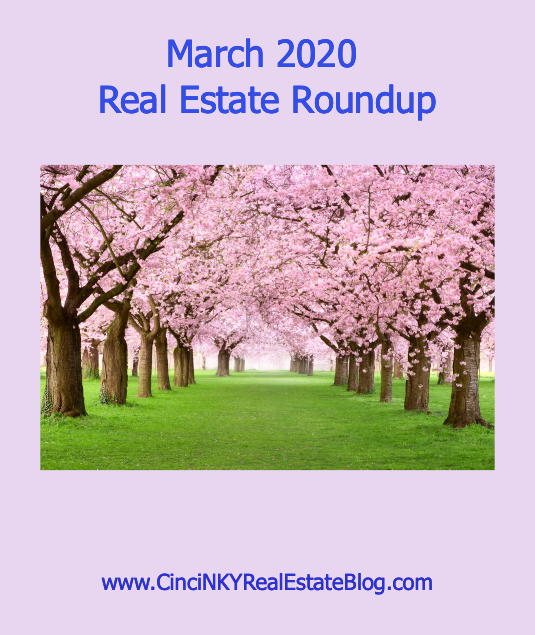 March 2020 Real Estate Roundup