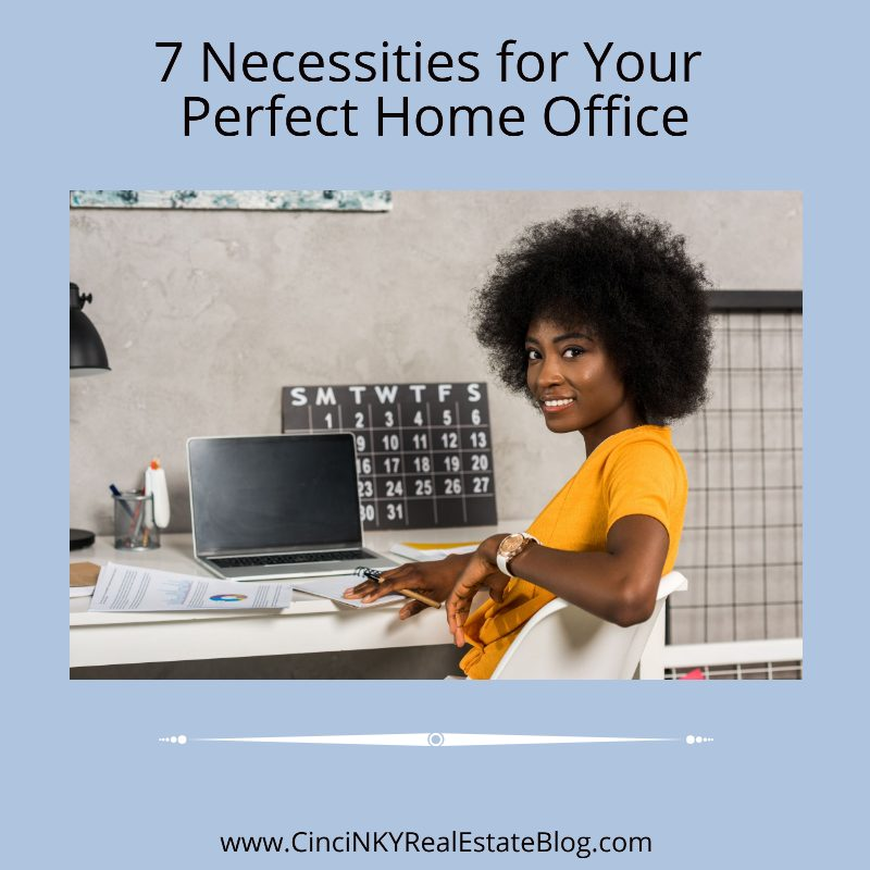 7 Necessities for Your Perfect Home Office