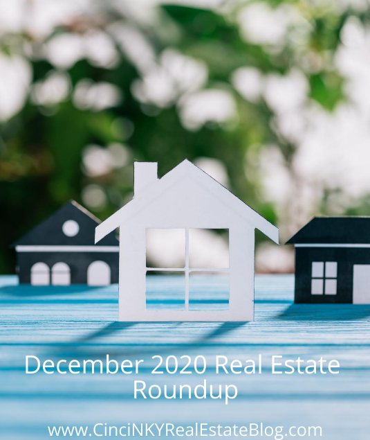 December 2020 Real Estate Roundup