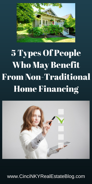 Non Traditional Home Financing