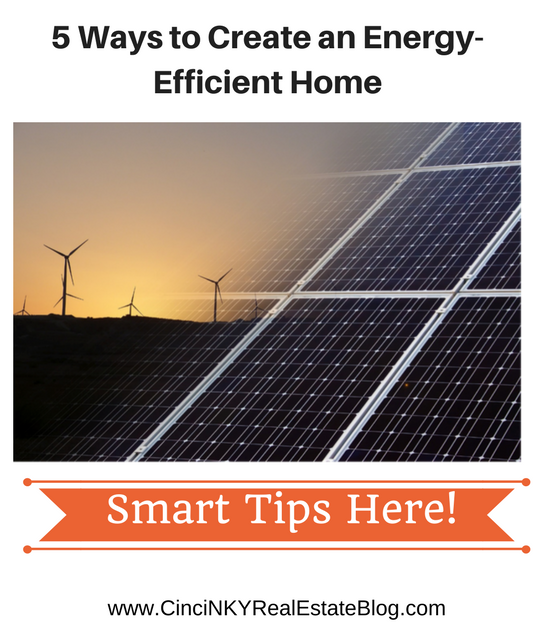 5 Ways to Create an Energy-Efficient Home