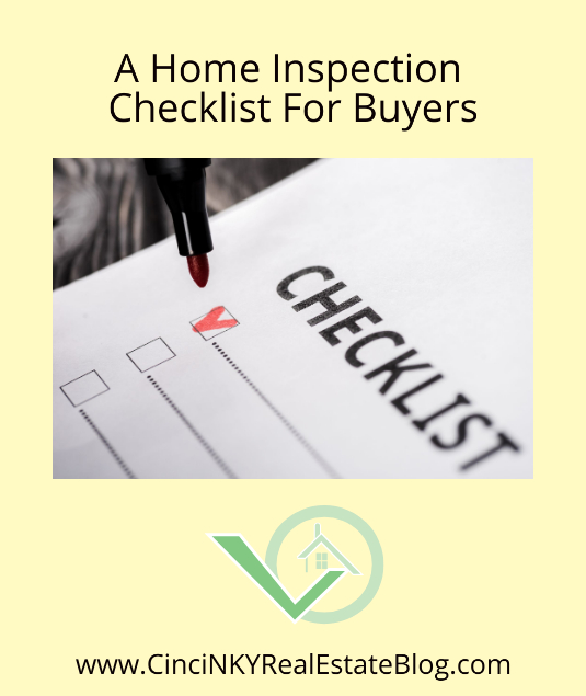 A Home Inspection Checklist For Buyers