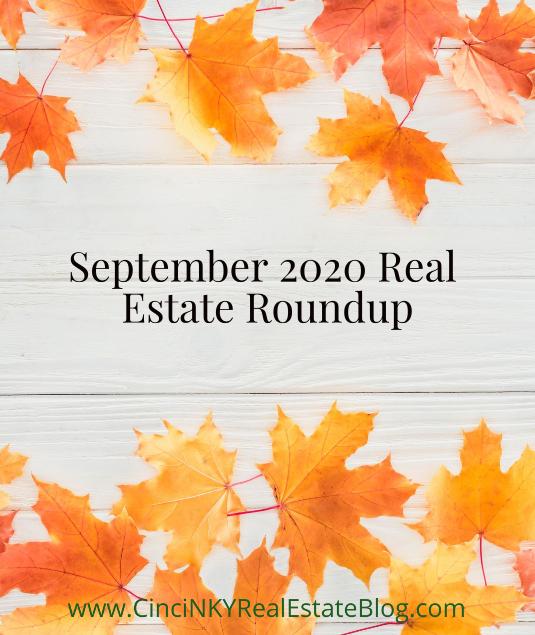 September 2020 Real Estate Roundup