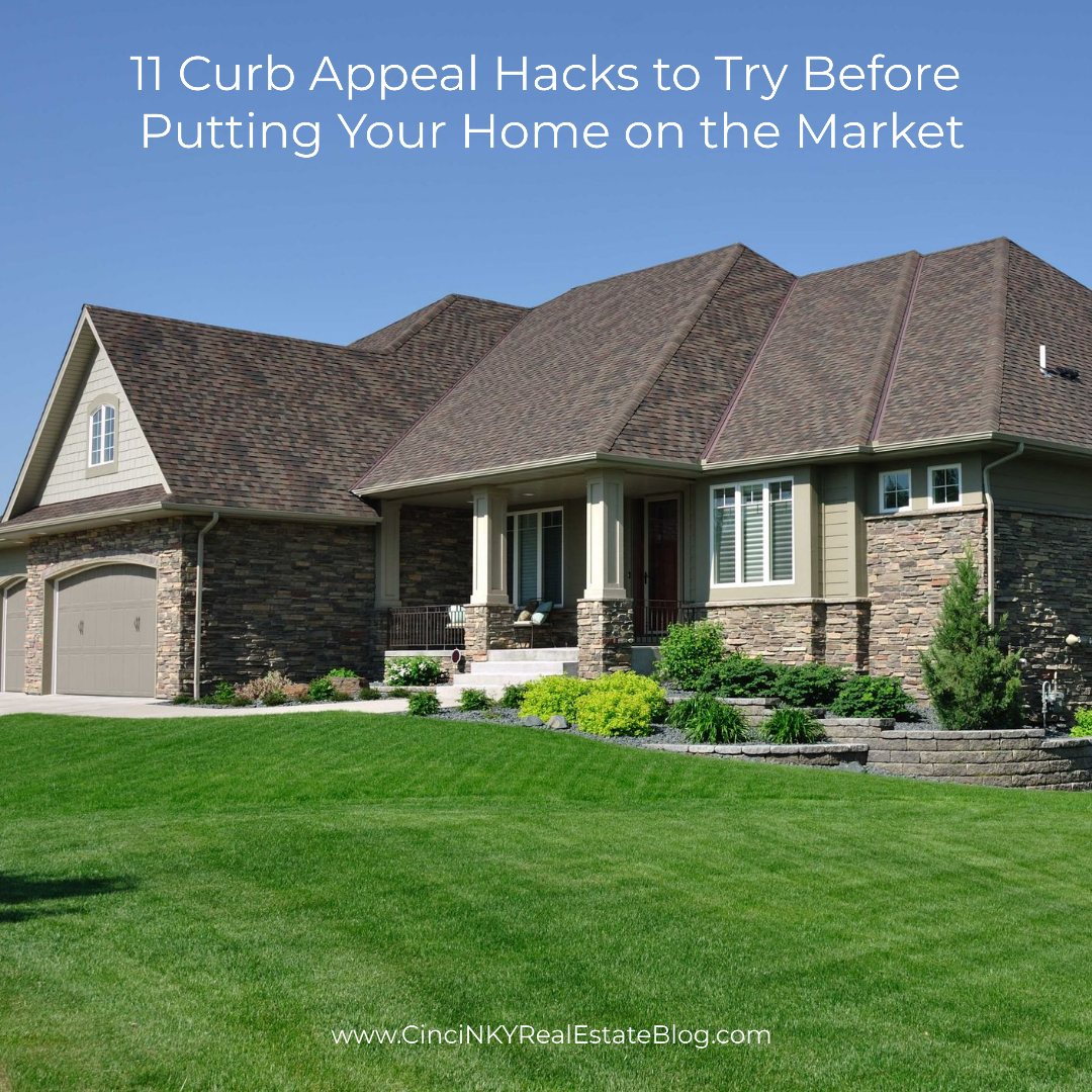 11 Curb Appeal Hacks to Try Before Putting Your Home on the Market